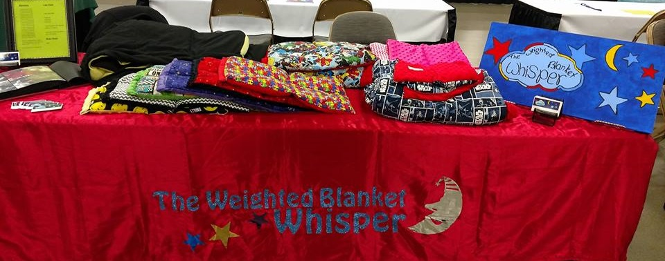 table-weighted-blanket-whisper-autism-expo-2017.jpg